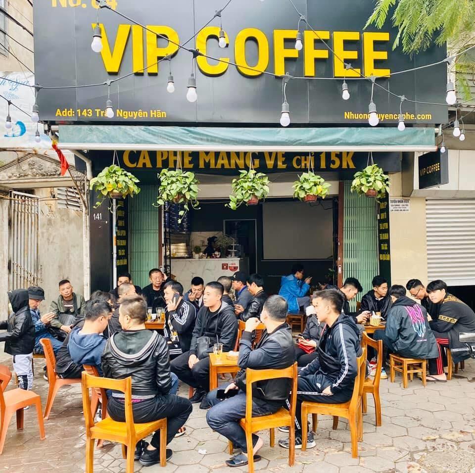 chuỗi cà phê nhượng quyền thương hiệu lớn nhất hải phòng
